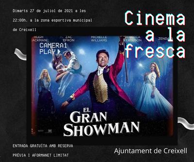 CINEMA A LA FRESCA DE FESTA MAJOR