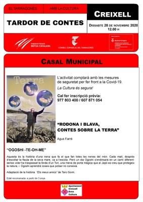 CONTACONTES AL CASAL MUNICIPAL