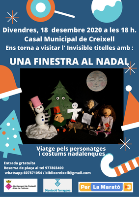 "ESPECTACLE FAMILIAR DE TITELLES ""UNA FINESTRA AL NADAL"""