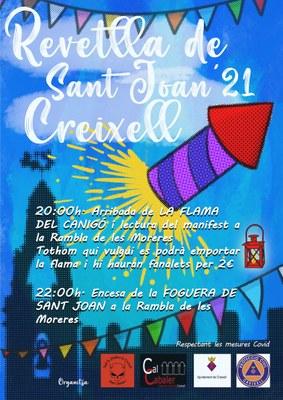 REVETLLA DE SANT JOAN 2021 A CREIXELL