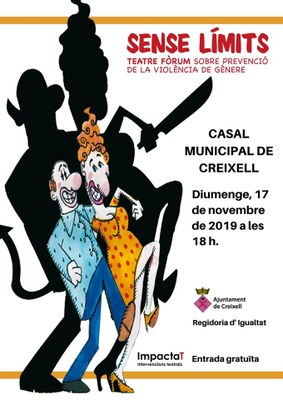 """""""SENSE LÍMITS"""" . Sessió de Teatre - Fórum"""
