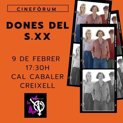"""SESSIÓ DE CINEFÒRUM """"DONES DEL SEGLE XX"""""""