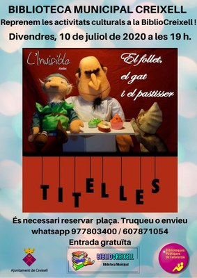 TITELLES A LA BIBLIOTECA MUNICIPAL BIBLIOCREIXELL
