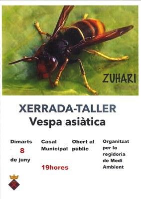 XERRADA-TALLER INFORMATIU SOBRE LA VESPA ASIÀTICA A CREIXELL