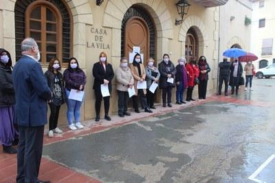 Acte de la Lectura del Manifest del Dia Internacional de les Dones a Creixell. #8M