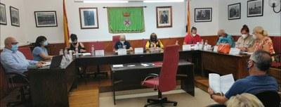 Primer Ple presencial de la Corporació Municipal a la nova fase de represa
