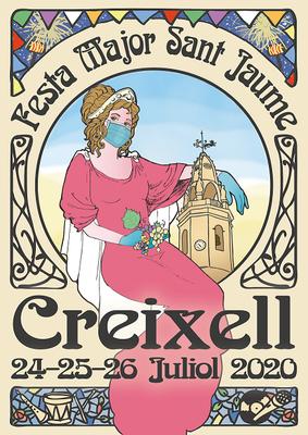 PROGRAMA D'ACTES FESTA MAJOR DE SANT JAUME  CREIXELL 2020